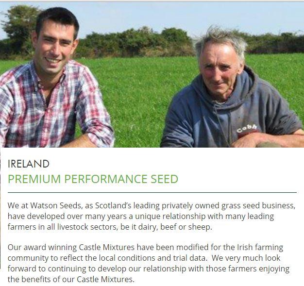 Grass Seed, Kilkenny, Jordan Agri