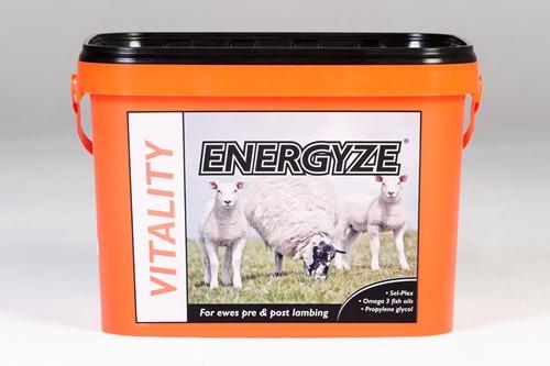 Bucket of ENERGYZE VITALITY